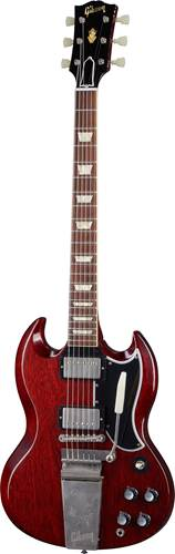 Gibson Custom Shop Murphy Lab 1964 SG Standard Reissue with Maestro Ultra Light Aged Cherry Red