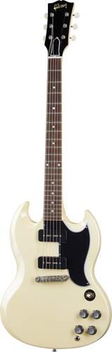 Gibson Custom Shop Murphy Lab 1963 SG Special Lightning Bar Ultra Light Aged Classic White