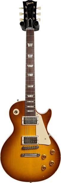 Gibson Custom Shop Murphy Lab 1958 Les Paul Standard Reissue Light Aged Lemon Burst #801077