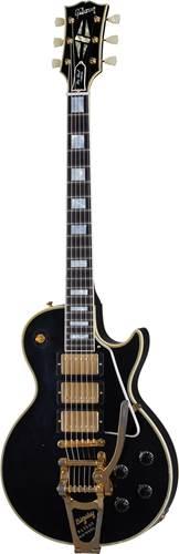 Gibson Custom Shop Murphy Lab 1957 Les Paul Custom Reissue 3-Pickup Bigsby Light Aged
