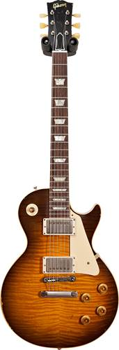 Gibson Custom Shop Murphy Lab 1959 Les Paul Standard Reissue Heavy Aged Golden Poppy Burst #90996