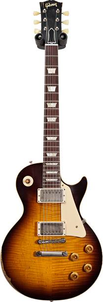 Gibson Custom Shop Murphy Lab 1959 Les Paul Standard Reissue Ultra Heavy Aged Kindred Burst #901006