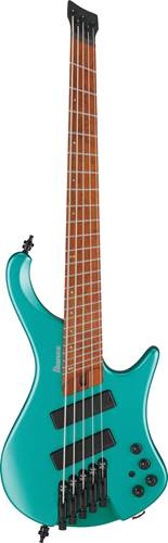 Ibanez EHB1005SMS Emerald Green Metallic Matte Short Scale Bass