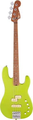 Charvel Pro Mod San Dimas PJ IV Lime Green Metallic