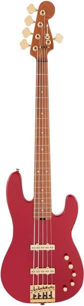 Charvel Pro-Mod San Dimas Bass JJ V Candy Apple Red