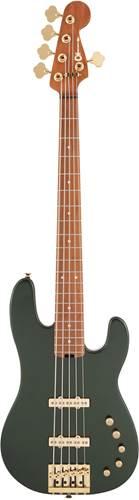 Charvel Pro Mod Bass San Dimas JJ V Lambo Green Metallic