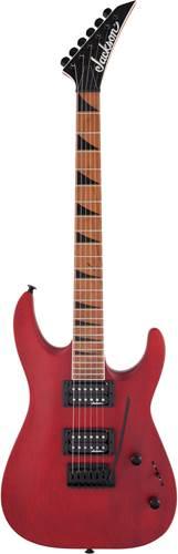 Jackson JS Series JS24 DKAM DX Dinky Archtop Red Stain Roasted Maple Fingerboard