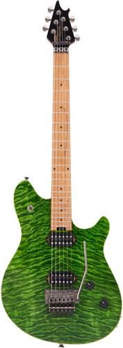 EVH Wolfgang Standard Trans Green Quilt