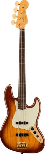 Fender 75th Anniversary Commemorative Jazz Bass 2 Colour Bourbon Burst Rosewood Fingerboard
