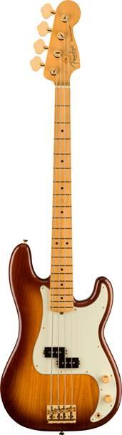 Fender 75th Anniversary Commemorative Precision Bass 2 Colour Bourbon Burst Maple Fingerboard