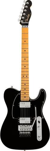 Fender American Ultra Luxe Telecaster HH Floyd Mystic Black Maple Fingerboard