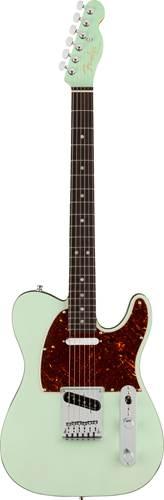 Fender American Ultra Luxe Telecaster Trans Sea Foam Green Rosewood Fingerboard