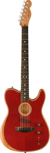 Fender Acoustasonic Telecaster Crimson Red
