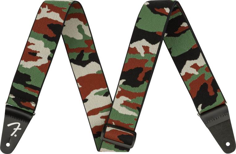 Fender WeighLess 2 Inch Camo Strap