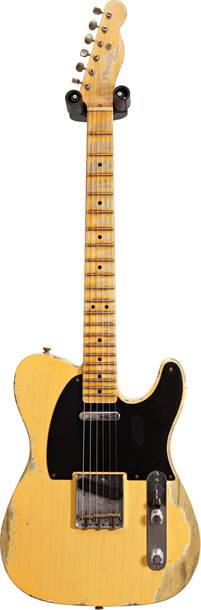 Fender Custom Shop Limited Edition 1951 Telecaster Heavy Relic Aged Nocaster Blonde #R112143