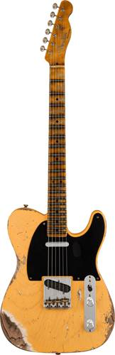 Fender Custom Shop Limited Edition 1951 Telecaster Heavy Relic Aged Nocaster Blonde