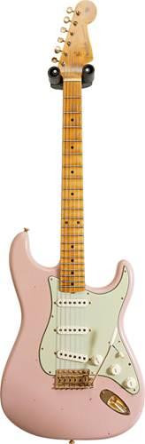 Fender Custom Shop Limited Edition 1962 Stratocaster Bone Tone Journeyman Relic Dirty Shell Pink #CZ550509