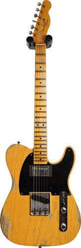 Fender Custom Shop Limited Edition 1951 HS Telecaster Heavy Relic Aged Butterscotch Blonde #R111820