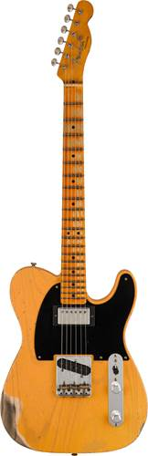 Fender Custom Shop Limited Edition 1951 HS Telecaster Heavy Relic Aged Butterscotch Blonde