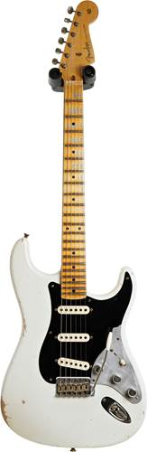 Fender Custom Shop Limited Edition Poblano II Stratocaster Relic Aged Olympic White #CZ540868