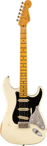 Fender Custom Shop Limited Edition Poblano II Stratocaster Relic Aged Olympic White
