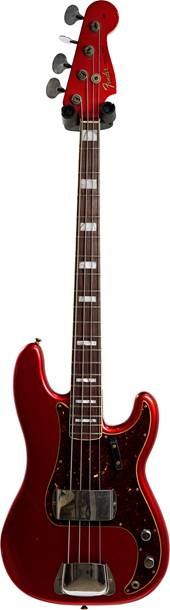 Fender Custom Shop Limited Edition Precision Jazz Bass Journeyman Relic Aged Candy Apple Red #CZ553203