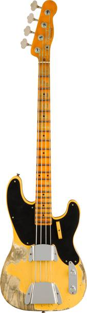 Fender Custom Shop Limited Edition 1951 Precision Bass Super Heavy Relic Aged Nocaster Blonde