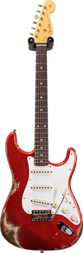 Fender Custom Shop 1959 Stratocaster Heavy Relic Super Faded Aged Candy Apple Red #CZ549416