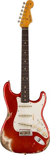 Fender Custom Shop 1959 Stratocaster Heavy Relic Super Faded Aged Candy Apple Red
