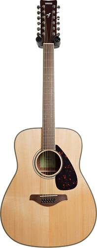 Yamaha FG820-12 Natural 12 String Walnut Fingerboard