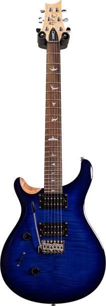 PRS SE Custom 24 Faded Blue Burst Left Handed