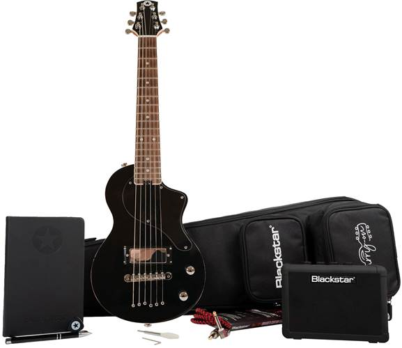 Blackstar Carry-On Deluxe Travel Pack Black with Fly 3 BT