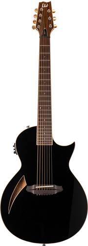 ESP LTD TL-7 7 String Acoustic Black