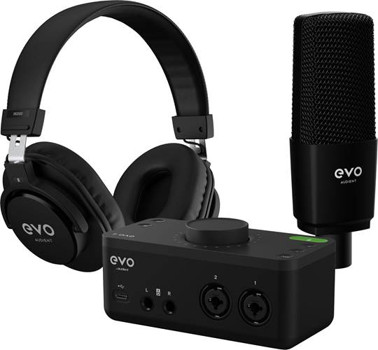 Audient EVO SRB Start Recording Bundle