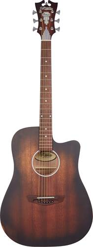 D'Angelico Premier Bowery Aged Mahogany
