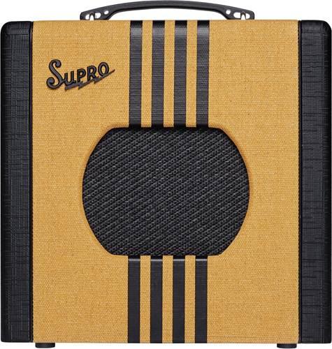 Supro Delta King 8 Tweed and Black