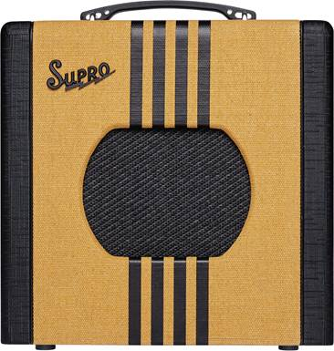 Supro Delta King 8 Tweed and Black Combo Valve Amp
