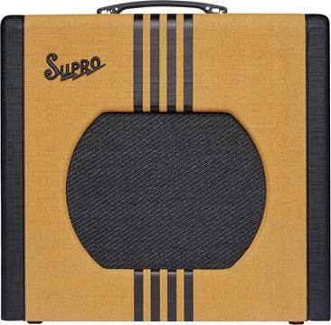 Supro Delta King 12 Tweed and Black
