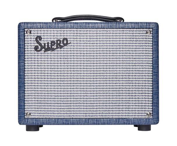Supro 64 Super 5W Combo Blue Rhino