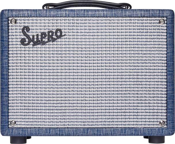 Supro 64 Reverb 5W Combo Blue Rhino