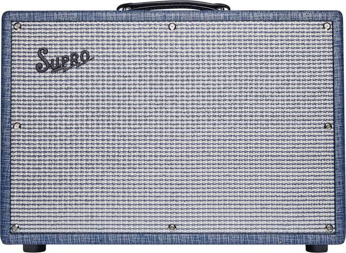 Supro Keeley Custom 12 25W Combo Blue Rhino