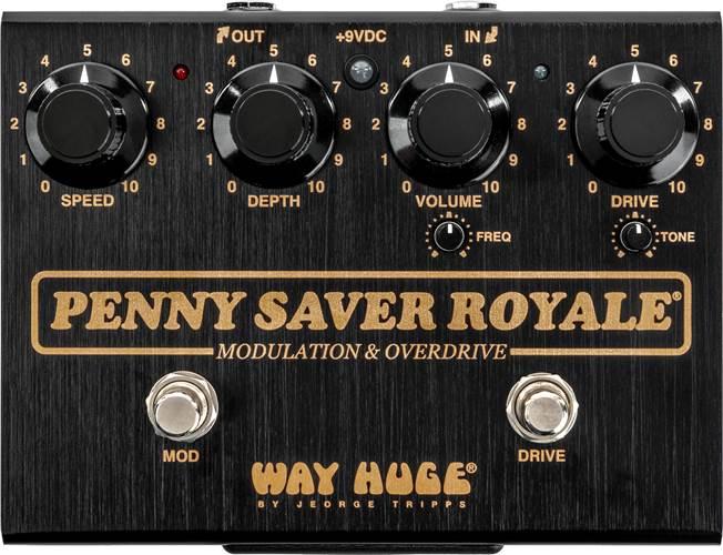 Way Huge Penny Saver Royale Modulation and Overdrive
