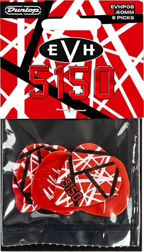 Dunlop EVH 5150 Max Grip Picks Pack of 6