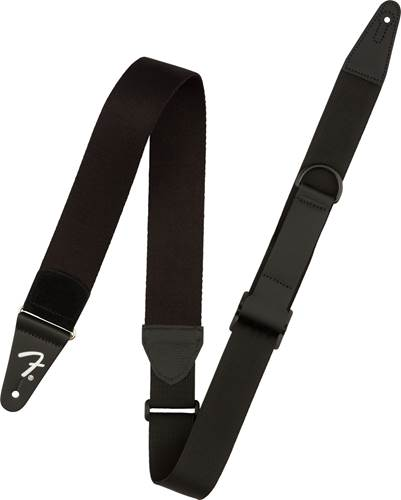 Fender Right Height Rayon Strap, Black