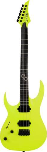 Solar Guitars A2.6LN Lemon Neon Left Handed