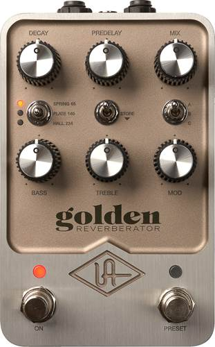 Universal Audio Golden Reverberator Reverb
