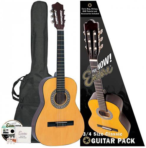 Encore 3/4 Size Classical Pack Natural