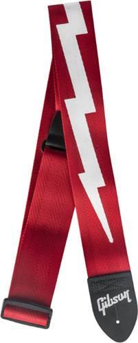 Gibson The Lightning Bolt Seatbelt Red Strap