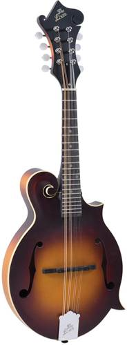 The Loar LM-590 Contemporary F Style Mandolin Matte Sunburst