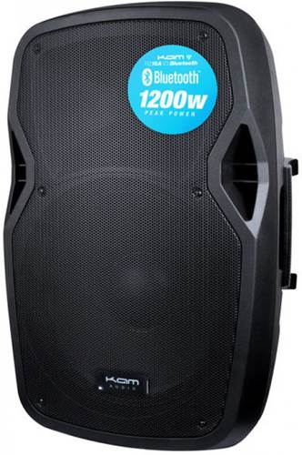 Kam RZ15ABT 15 Inch Active Speaker with Bluetooth 1200w (Single)